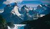 Explora Patagonia : Hotel Exterior and Mountainous Surroundings