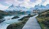 Explora Patagonia : Boardwalk Leading to Explora Patagonia