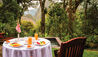 Belmond Sanctuary Lodge : Breakfast Alfresco