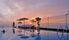 Belmond Miraflores Park : Outdoor Pool At Sunset
