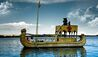Titilaka Hotel : Boat Sailing Along Lake Titicaca