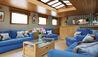 Belmond Afloat in France : Hirondelle Guest Lounge