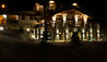 Shemshak Lodge : Lodge Exterior At Night