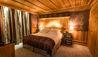 La Mourra Hotel Village : Chalet Ambre Bedroom