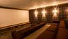La Mourra Hotel Village : Chalet Chene Cinema