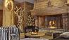 Les Barmes de l'Ours : The Bar Fireplace