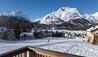 Nira Alpina : View of the Skiers from Nira Alpina