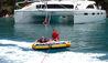 Children Tubing From Zingara Yacht