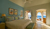 Kairos Estate Home at Jumby Bay Island : Bedroom Leading Out To Terrace And Pool
