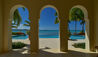 Kairos Estate Home at Jumby Bay Island : Pool Archway