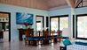 Lazy Lizard  Estate House at  Jumby Bay Island : Dining Area