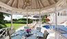 Illusion Villa at Sugar Hill Estate : Dining Gazebo By The Pool