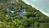 Jacaranda : Aerial View of Villa