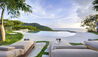 Opium Villa : Infinity Edge Pool And Sun Loungers