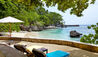 The Fleming Villa : Private Beach