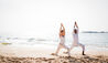 Anantara Peace Haven Tangalle Resort : Beach Yoga