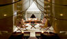 Aman-i-Khás : Lounge Tent In The evening
