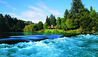 Huka Lodge : View Of Waikato River And Huka Lodge