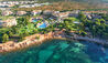 The St. Regis Mardavall Mallorca Resort : Aerial View From The Sea
