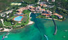 Hotel Cala di Volpe : Aerial View Of Hotel