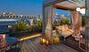 Mandarin Oriental, Paris : Rooftop Terrace At Dusk
