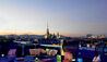The Ritz-Carlton, Vienna : Atmosphere Rooftop Bar & Lounge With Vienna Skyline