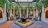 Hotel Lobby And Fountain