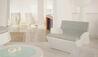 Petasos Beach Resort & Spa : Reception Seating Area