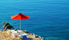 Petasos Beach Resort & Spa : Sun Loungers