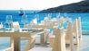 Petasos Beach Resort & Spa : Alfresco Restaurant