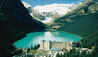 Fairmont Chateau Lake Louise : Property Exterior Within Landscape