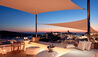 Canaves Oia Sunday Suites : Rooftop Bar At Night
