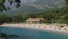 Aman Sveti Stefan : Villa Milocer Exterior and Beach