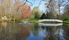 Monmouth Historic Inn : Pond And Bridge