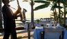 Constantinou Bros Asimina Suites Hotel : Saxophonist at Kymata Restaurant