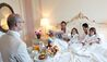 Belmond Hotel Cipriani : Family breakfast in bed
