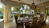 La Casa Estate House at Jumby Bay Island : Dining