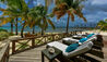 La Casa Estate House at Jumby Bay Island : Sun Terrace