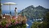 Belmond Hotel Splendido : View of Harbour from Terrace