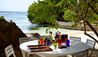 The Fleming Villa : Private Beach Dining