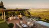 Villas at Rosewood Castiglion del Bosco : Dining Alfresco
