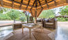Makanyi Private Game Lodge : Main Lodge Exterior Lounge