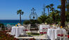 Royal Hotel Sanremo : Breakfast on the Terrace