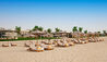 The Oberoi Beach Resort Al Zorah : Loungers On Beach