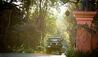 Anantara Golden Triangle Elephant Camp & Resort : Jeep Entrance