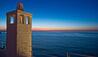 Don Ferrante : Chimney On Terrace At Sunset