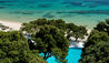 Forte Village - Hotel Castello : Aerial view of pool