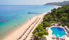 Forte Village - Hotel Castello : Aerial view of Beach and Castello Pool
