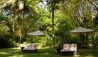 The Wallawwa : Sun Loungers In Garden