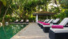 The Wallawwa : Sun Loungers By Swimming Pool